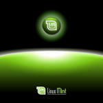 Animation live boot linux mint maya valombre