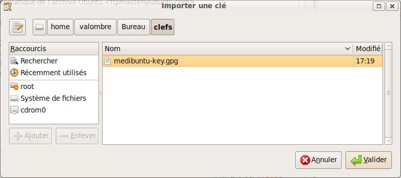 sources-logiciels-tierces-parties-authentification-clef-medibuntu-importer