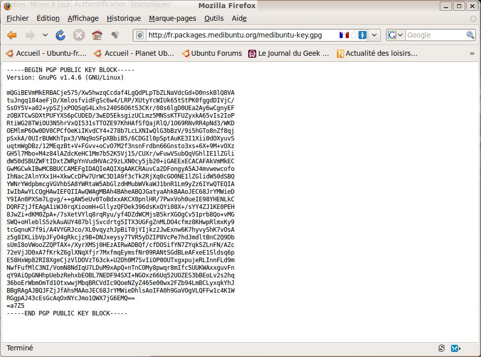sources-logiciels-tierces-parties-authentification-clef-medibuntu
